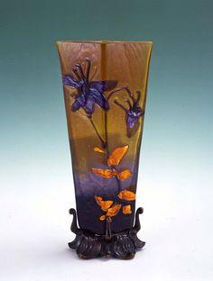 Galle art nouveau vase