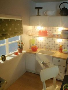 Polly Line's new Lundby kitchen 6 by pubdoll, via Flickr