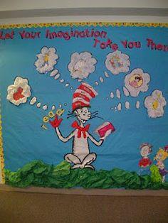 Clutter-Free Classroom: Dr. Seuss Theme Classroom