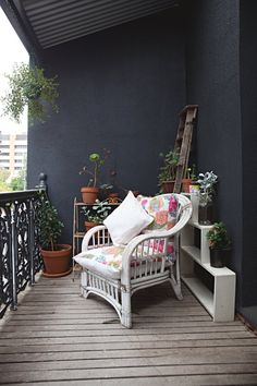 Apartment Therapy tour from Australia - I have one of those exact recycled pillows from 10,000 Villages!