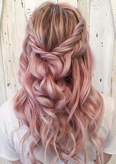 38 Cute Pastel Braids Hair Ideas for 2018