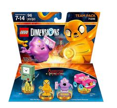 #LEGO Dimensions #AdventureTime Team Pack (71246) - http://www.thebrickfan.com/lego-dimensions-series-2-expansion-packs-revealed/