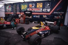 F1 Pit Monaco 1984