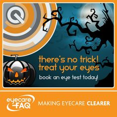 When was the last time you had a sight test? Halloween Eyes, The Last Time, Books, Movie Posters, Libros, Film Poster, Book, Popcorn Posters, Film Posters