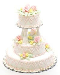 Victorian Wedding Cake | Stewart Dollhouse Creations