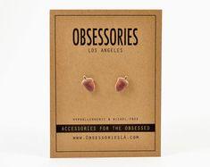 Idée de cadeau de gland gland boucles d'oreilles par ObsessoriesLA
