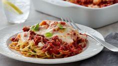 Skinny Million-Dollar Spaghetti Casserole | MasterChef