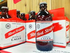 10 Weird Facts About the World's Best Beers - According to the marketing guys behind Red Stripe, it's a traditional Jamaican style lager with a rich history. According to Google, Red Stripe was first brewed in Illinois for a century before it was bought out by some British guys during prohibition who then marketed it to soldiers stationed in Jamaica