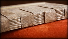 Example of an unusual bookbinding technique by dirk seynhaeve