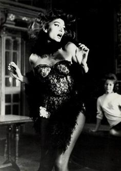 Anouk Aimée, Lola, 1961.  Love this BW noir like photo.