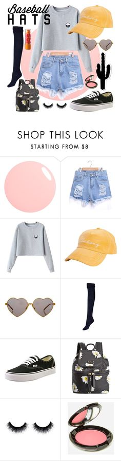 """""""Baseball Caps 2016: Part Two"""" by kendallballesteros ❤ liked on Polyvore featuring Chicnova Fashion, Billabong, Wildfox, Vans, Kate Spade, Rituel de Fille and Maybelline"""