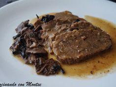 Receta Plato : Redondo de ternera con setas por MontseMorote