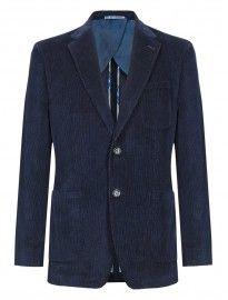 Blue Harbour Pure Cotton 2 Button Corduroy Jacket