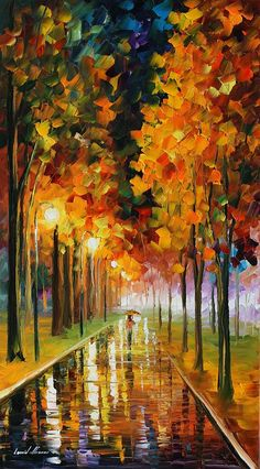 Light Of Autumn by Leonid Afremov