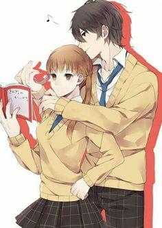 shizuku and Haru - Tonari no Kaibutsu-kun Shizuku And Haru, Shizuku Mizutani, My Little Monster, Little Monsters, Otaku, Hot Anime Guys, Anime Love, Manga Anime, Anime Art