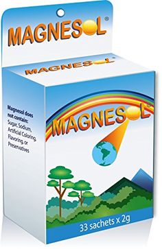 Magnesol Magnesium Supplement - Magnesium Chloride with Zinc Oxide - Powder Form - / Sachet - No Artificial Ingredients, No Sugar, Gluten-Free Magnesium Chloride, Magnesium Supplements, Nutritional Supplements, The 100, Health Fitness, Pure Products, Powder, San Jose, 100 Pure