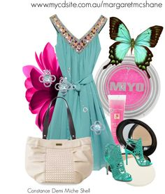 """""""Constance Demi Miche Shell"""" by mcshanes on Polyvore"""
