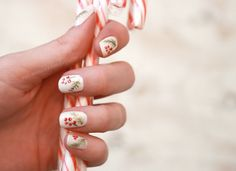 Holiday Nail Art: Berries and Spruce | Wonder Forest: Design Your Life.