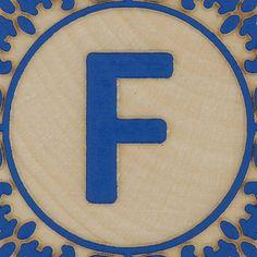 Block Letter F by Leo Reynolds, via Flickr