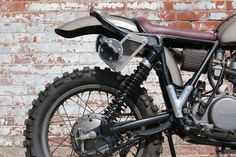 Motorcycle Yamaha XT500 was designed on the bases of legendary SR500. Description from sometimesnothingisarealcoolhand.com. I searched for this on bing.com/images