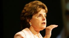 I'VE HAD IT UP TO HERE: U.S. Sen. Diane Feinstein, D-Calif., says citizen journalists and bloggers should not be covered by a federal shield law.