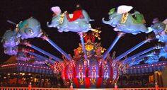 Dumbo flies at night, too!