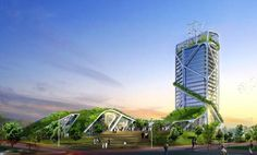 Green architecture attempts to minimize the depletion of natural resources, both in the construction of and the on-going maintenance of buildings.