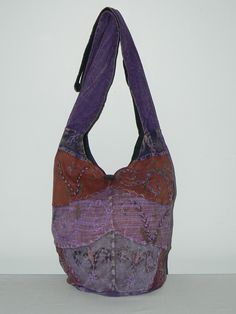 """Boho Stitch Barrel Bag"""
