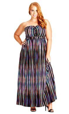 women's plus size sleeveless maxi dress deep navy - spenser jeremy