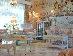 Shabby Chic Decor - A brilliant info on chic room decor strategies. A pin tip note 8208992376 stored under category shabby chic decorating tips, and presented on 20190107 Rose Shabby Chic, Shabby Chic Style, Shabby Chic Decor, Shaby Chic, Shabby Chic Interiors, Shabby Chic Homes, Shabby Chic Furniture, White Furniture, Romantic Cottage