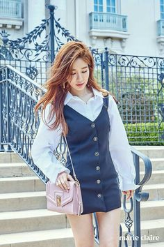 StyleKorea: The Art of Korean Fashion Yoo In Na, Korean Actresses, Body Inspiration, Work Attire, Pretty Woman, Korean Girl, Kdrama, Korean Fashion, Photoshoot