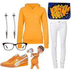 Cute Fall Polyvore Outfits Inspired By Despicable Me Characters | Gurl.com