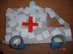 Thema dokter Ziekenwagen maken