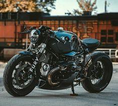 Custom Bmw, Custom Cafe Racer, Cafe Racer Bikes, Cafe Racers, R Cafe, Moto Cafe, Bike Bmw, Cool Motorcycles, Best Motorbike