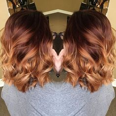 golden chestnut hair color