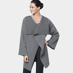 Gray Fleece Jacket by Marianne Abelsson, 2012, at MoMAstore.org, $130 !!
