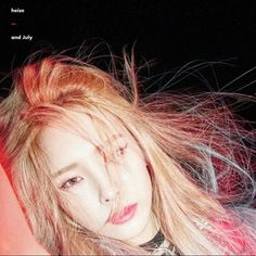 """""""And July"""" is the mini album recorded by South Korean rapper Heize (헤이즈). It was released on July 2016 by CJ E&M. Track List And July (Feat. Song Hye Kyo, Heize Kpop, Rapper, Programa Musical, And July, Female Singers, Queen, Music Albums, My Favorite Music"""