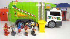 Garbage truck and marvel heros