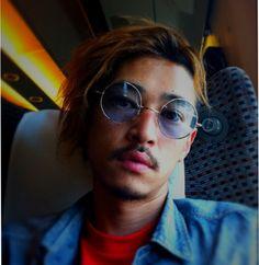 熊谷さん(GDC)がまた丸眼鏡くれた♪お次はスカイブルーだぜよ
