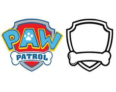 Check out our paw patrol svg selection for the very best in unique or custom, handmade pieces from our shops. Insignia De Paw Patrol, Paw Patrol Badge, Paw Patrol Party, Paw Patrol Birthday, Shield Template, Cumple Paw Patrol, Cake Templates, Image Clipart, Silhouette Projects