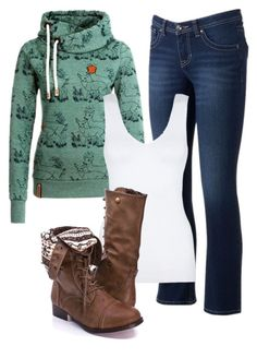"""Fall 2015"" by jordan-hansen on Polyvore featuring Apt. 9 and Hanro"