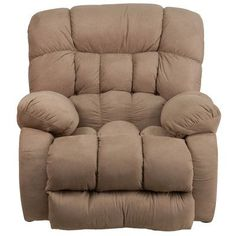 Darby Home Co Ragland Softsuede Rocker Recliner Upholstery: Taupe