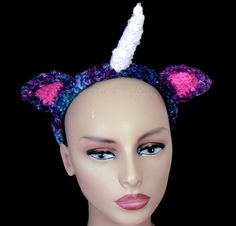 ... Unicorn Hair Band. Unicorn Mythical Creature Cosplay Hair Accessory