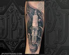 Resultado de imagem para tattoo vela de carro
