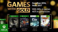 Games with Gold: jogos grátis na Live para Janeiro de 2017 - http://www.showmetech.com.br/games-with-gold-jogos-gratis-na-live-para-janeiro-de-2017/