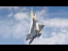 F22 Raptor, Global News, Climbing, Air Force, Fighter Jets, Action, Military, Fire, Youtube