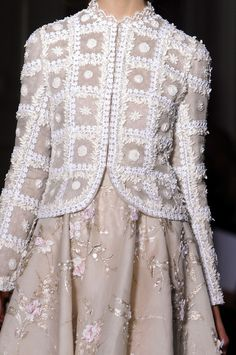 girlannachronism: Valentino spring 2013 couture details