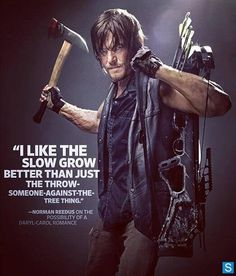 Norman Reedus as Daryl Dixon  #TheWalkingDead season 4 2013 promo photo