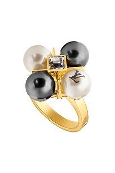 #LouisVuitton #pearl #ring #jewellery