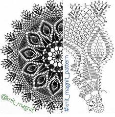 Home Decor Crochet Patterns Part 146 - Beautiful Crochet Patterns and Knitting Patterns Home Decor Crochet Patterns Part 146 - Beautiful Crochet Patterns and Knitting Patterns Record of Knitting Yarn spinning. Crochet Tablecloth Pattern, Crochet Doily Diagram, Crochet Doily Patterns, Crochet Art, Crochet Round, Crochet Home, Crochet Motif, Crochet Stitches, Knitting Patterns